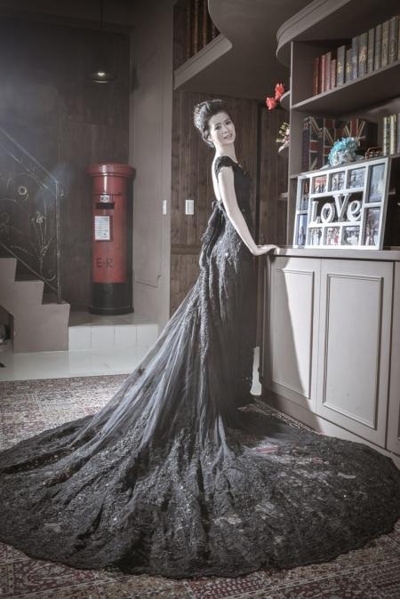 黑禮服婚紗照-台北婚攝力元爸