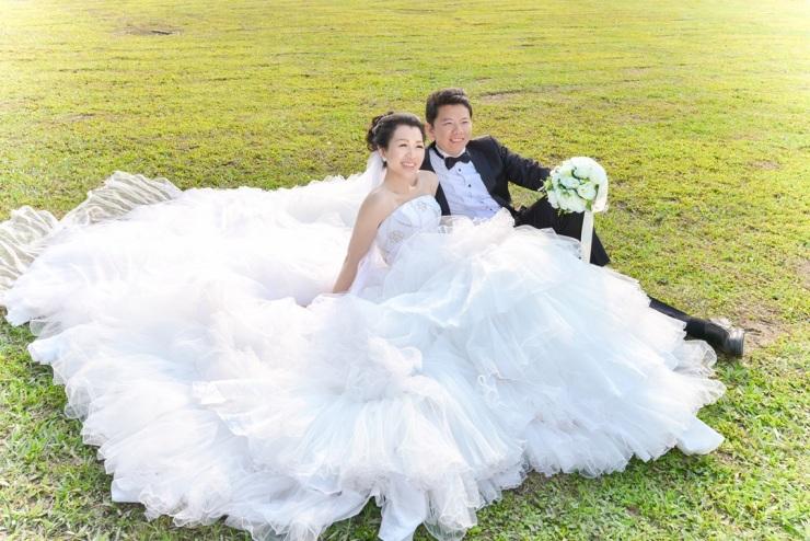 陽光草坪婚紗照-台北婚攝力元爸