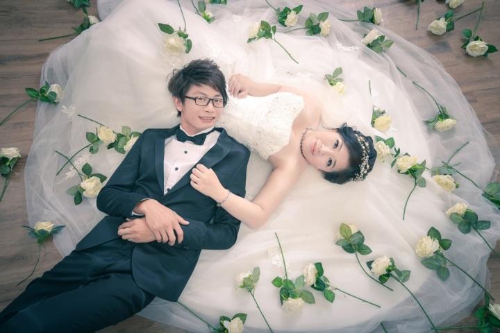 婚紗道具推薦:玫瑰花