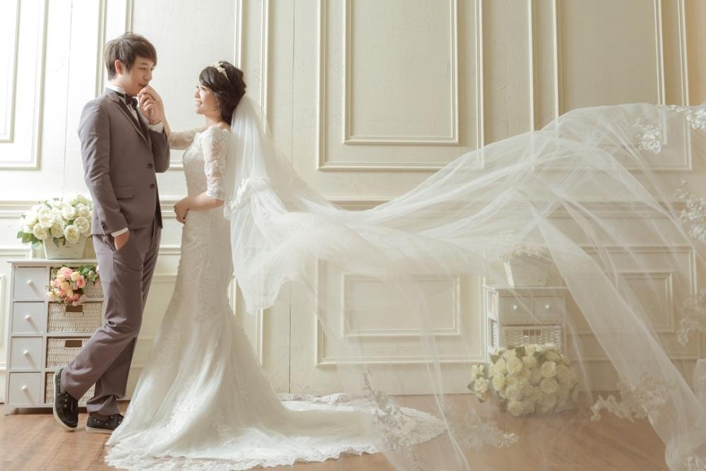 台北手工婚紗推薦-婚攝力元爸