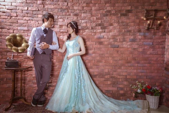 復古風格婚紗照-台北婚攝力元爸