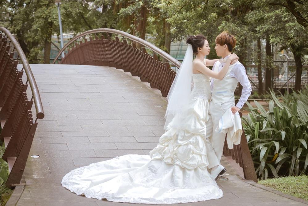 大自然婚紗照-台北婚攝力元爸
