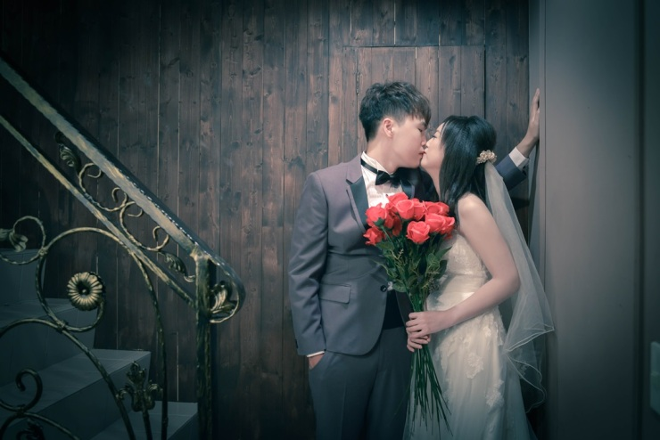 棚拍婚紗照系列-台北婚攝力元爸