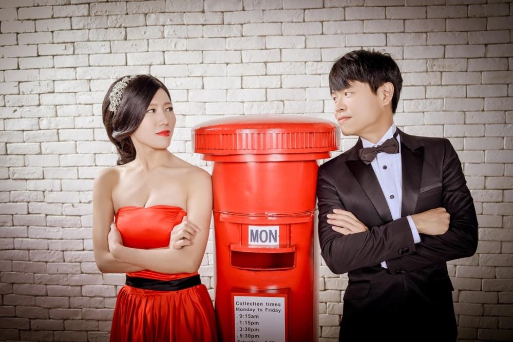 台北婚紗攝影棚推薦-婚攝力元爸