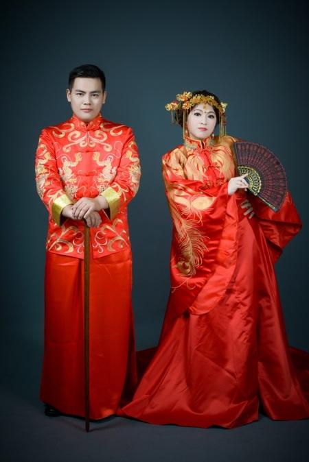秀禾服/中式禮服 婚紗照-台北婚攝力元爸