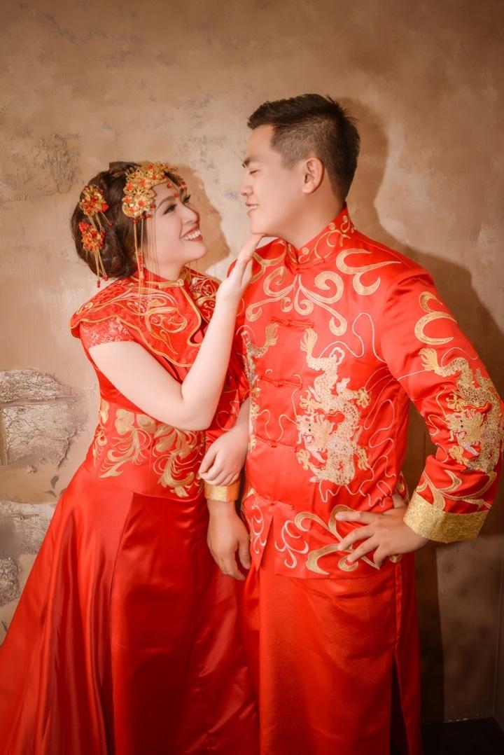 秀禾服/龍鳳褂/中式禮服婚紗照-婚攝力元爸