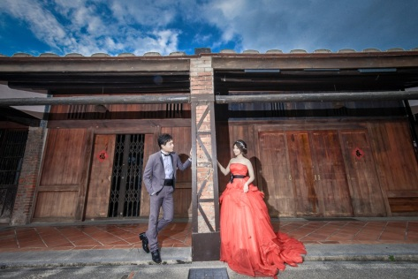 復古建築婚紗照-台北力元爸