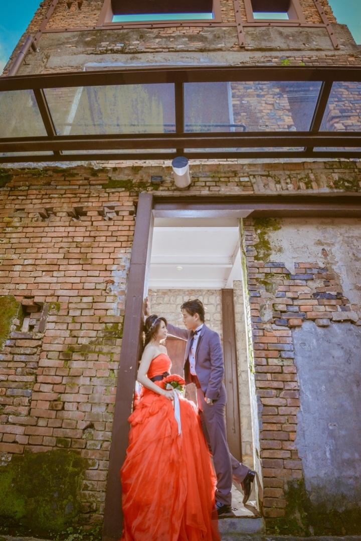 復古建築婚紗照-台北婚攝力元爸