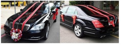 順賓結婚禮車推薦-禮車出租-BENS 500